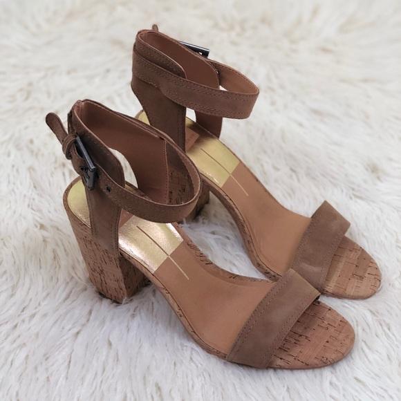 396dd1c8ab7 Dolce Vita Cally Block Heel Sandal Size 10